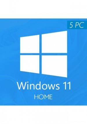 Windows 11 Home CD-KEY (5 PC)