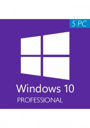 Windows 10 Professional CD-KEY (32/64 Bit) (5 PC)
