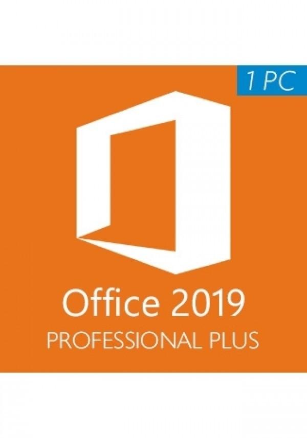 Microsoft Office 2019 Professional Plus / 1 PC