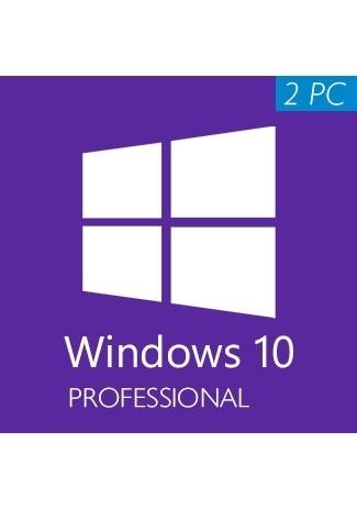 Windows 10 Professional (32/64 Bit) (2 PC)