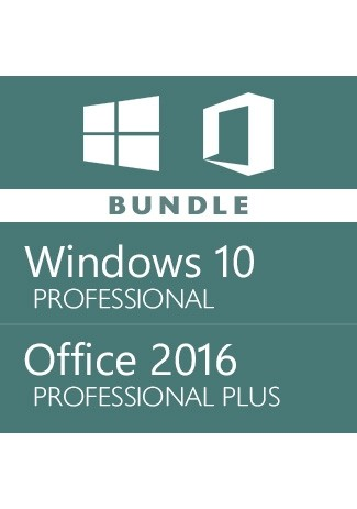 Windows 10 Pro + Office 2016 Pro -Bundle