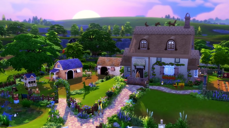 The Sims 4 : Cottage Living